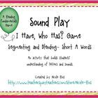 Free! Sound Play I Have, Who Has...Segmenting and Blending Short A game set...
