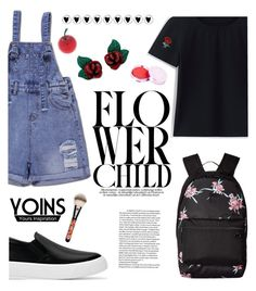 """""""YOINS #19"""" by buflie ❤ liked on Polyvore featuring Vans, MAC Cosmetics, 100% Pure, Tony Moly, yoins, yoinscollection and loveyoins"""