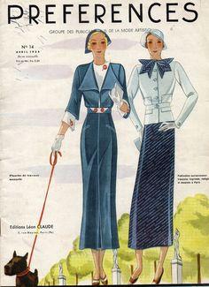 revue  PRÉFÉRENCES N° 14-JUILLET 1934