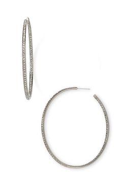 Nadri Pavé Hoop Earrings | Nordstrom - StyleSays
