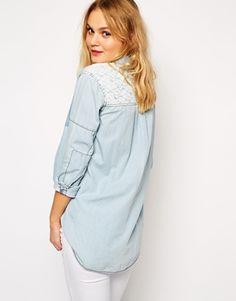 Hilfiger Denim Lace Back Shirt