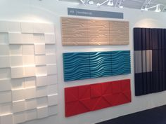 Sound tect Design Show, Surface Design, Valance Curtains, Innovation, Home Decor, Decoration Home, Room Decor, Home Interior Design, Valence Curtains