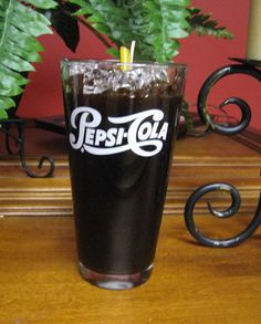 Pepsi Gel Candle by livingtreecandles. Explore more products on http://livingtreecandles.etsy.com
