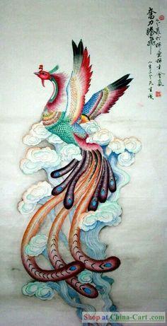 Chinese Phoenix inspiration