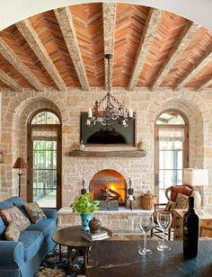 Tuscan design – Mediterranean Home Decor Luxury Mediterranean Homes, Mediterranean House Plans, Mediterranean Decor, Mediterranean Architecture, Tuscan Design, Tuscan Style, Style Villa, Tuscan House, Tuscan Decorating