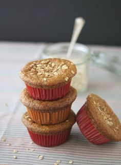 I love baking goodies for Valentine's Day and dolling them out to friends. This Pumpkin Protein Muffins would be great!