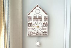 Printable Cuckoo Clock | Handmade Charlotte I've... | Scissors + Thread