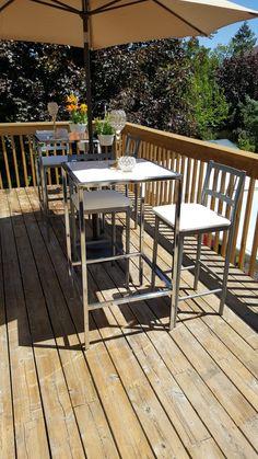 Outdoor Tables, Outdoor Decor, Outdoor Furniture Sets, Events, Diy, Home Decor, Homemade Home Decor, Bricolage, Do It Yourself