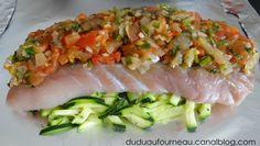 Papillote de lieu noir Asian Fish Recipes, Recipes With Fish Sauce, Whole30 Fish Recipes, White Fish Recipes, Easy Fish Recipes, Healthy Recipes, Fish Varieties, Pollock Fish Recipes, Walleye Fish Recipes