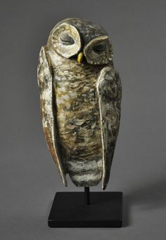 Hib Sabin ~ The Sleeper ~ Wood Sculpture Juniper