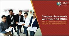 Get prepared for corporate roles with ISME's Post Graduate Diploma in Management (PGDM), a 2-year full-time AICTE-approved program. ISME's students have been placed in companies across sectors like Financial Services, Services, ITES, IT, Retail, Consulting, FMCG, Infrastructure and Manufacturing. Apply Now at www.isme.in