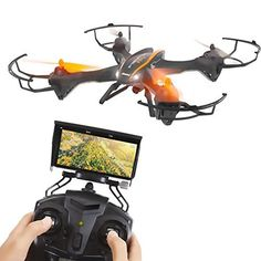 SereneLife Predator WiFi FPV Drone, 4 Channel 2.4G 6 Gyro Quadcopter With HD Camera and Live Video, Gravity Induction RC Drone With Headless Mode Function And Low Voltage Alarm, VR Headset Compatible. #SereneLife #Predator #WiFi #Drone, #Channel #Gyro #Quadcopter #With #Camera #Live #Video, #Gravity #Induction #Drone #Headless #Mode #Function #Voltage #Alarm, #Headset #Compatible