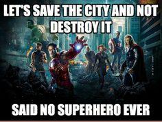 How Every Superhero Saves The World. - LoL Champ