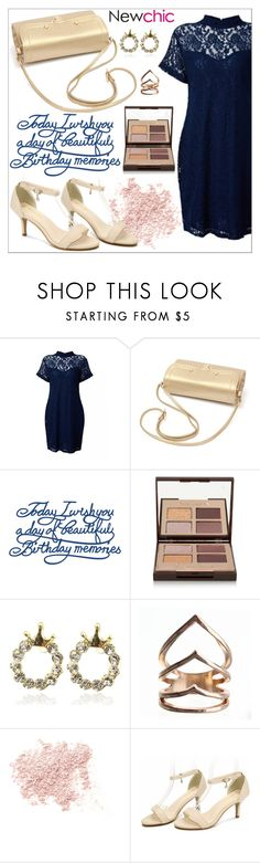 """Newchic -contest"" by little2amsterdam ❤ liked on Polyvore featuring Charlotte Tilbury and Bare Escentuals"