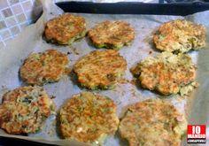 [SECONDI PIATTI] Burger di patate, broccoli e parmigiano.