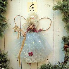 Christmas To Do List, Christmas Tree Fairy, Christmas Makes, Christmas Angels, Xmas Tree, Christmas Tree Ornaments, Christmas Crafts, Fairy Crafts, Felt Fairy
