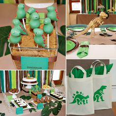 DINO-mite! Dinosaur Birthday Party by Party Couture! http://hwtm.me/ZWMSyC ‎#Dinosaur