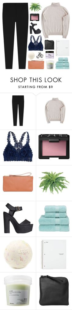 """""""let's dress up like hipsters"""" by f-4bulous ❤ liked on Polyvore featuring American Eagle Outfitters, NARS Cosmetics, Herschel Supply Co., Nly Shoes, Christy, MTWTFSS Weekday, Davines, Xenab Lone, women's clothing and women"""