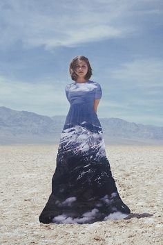 Find Adventure | Flickr - Photo Sharing!This picture is the best way I could think to describe the soul of every traveller I've met, on and off the beaten path.  Me and Dear Ava found adventure in Death Valley, California last week and I took this picture on the salt flats of Badwater, the mountains in her dress however I'm pretty sure were in Idaho.