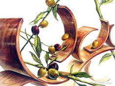 월간그린섬 2015.8월 마지막주 Graphic Design Illustration, Graphic Art, Elements And Principles, Cool Sketches, Art Classroom, Drawing Techniques, Woodworking Crafts, Beautiful Flowers, Art For Kids