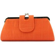 Pochette+de+soirée+Léon+montane+Pochette+Mariage+Bulle+sisal+Orange+Orange+26.90+€