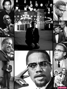 Malcolm X (Little) (May 1925 – February was an African-American Muslim minister & human rights activist — a courageous advocate for the rights of African Americans & a man who indicted white America in the harshest terms for its crimes again Malcolm X, Black History Facts, Black History Month, Black Power, Human Rights Activists, By Any Means Necessary, My Black Is Beautiful, Beautiful People, African Diaspora