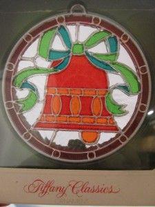 Old Hallmark Ornaments | Vintage Hallmark Tiffany Classics Christmas Ornament - Bell