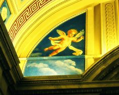 Vatican Cherub - Jon Lander - copyright 2009 - cute little guy
