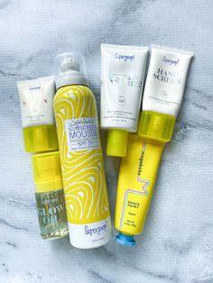 My Favorite Sunscreen: Supergoop - The Blondissima Spray Sunscreen, Tan Skin, Neutrogena, Sun Protection, Shea Butter, Sephora, Posts, Reading, Bottle