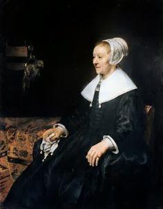 "Costume Historian: Portrait of a ""puritan"" – Dutch Mennonite"