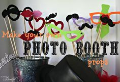All Things Beautiful: {Photo Booth} Teen Birthday Party