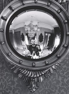 Self-Portrait in Victorian Mirror, Atherton, California | Center for Creative Photography