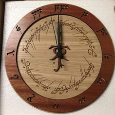 Ah I want this clock! xD
