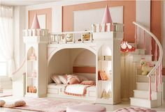High quality Princess suit children bed girl bed