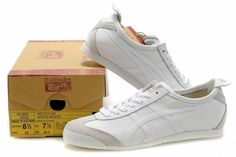 finest selection 35594 bbaf0 Asics Onitsuka Tiger Mexico 66 Blanc - Femme All White Shoes, White  Sneakers, Tiger