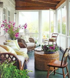 comfy-setting-on-porch photo: lucas allen  country home