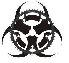 bike crank tattoo
