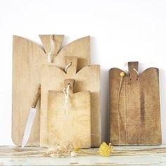 Planche à découper - desuet.fr Bookends, Burlap, Creations, Reusable Tote Bags, Instagram, Kitchens, Decoration, Home Decor, Decor