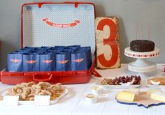 Airplane Birthday Party - and LOTS of free printables to make it happen.