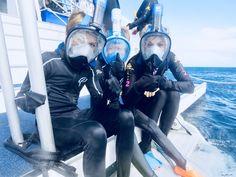 Sheryl & sons exploring the ocean (Australia Scuba Girl, Sheryl Crow, Full Face Mask, Snorkeling, Scuba Diving, Wetsuit, Surfing, Australia 2018, Singer