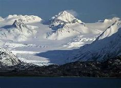Homer, Alaska..we had three glaciers in full view from our deck