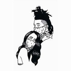 Lana Del Rey x The Weeknd #art