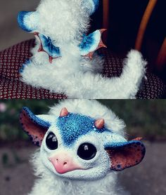 So this girl designs and makes HERSELF her own fantasy creatures AND THEY'RE FOR SALE LOOK HOW FUCKING ADORABLE THEY ARE OH MY GOD I WANT THEM ALL  She has a DeviantArt page with all the info on it including how to contact her about buying one and the prices