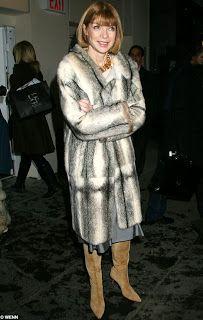 Anna Wintour #fur