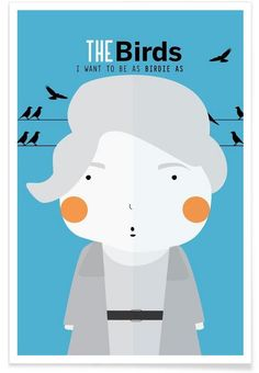 Little The Birds en Affiche premium