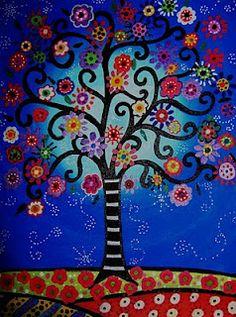 Folk Art Tree of Life