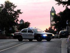 @WRPSToday always on the case! Kitchener, Ontario urban sunset by ~laurelrusswurm on deviantART