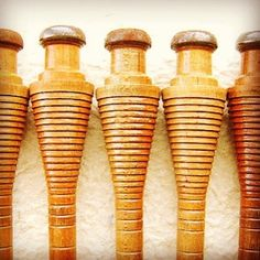 Japanese Vintage Wood Spindle Spool Bobbin (S390) Set of 5 #eBay @eBay #art #wood #japan #craft http://item.mobileweb.ebay.com/viewitem;PdsSession=bda2063b13d0a47a1994a714ffcee07d?itemId=130863102922=19=SEARCH=12743524879