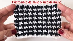 Hottest Totally Free Crochet Doilies videos Tips Punto pied de poule tejido a crochet (pata de gallo) Crochet Diy, Crochet Doily Rug, Pull Crochet, Tunisian Crochet, Tapestry Crochet, Crochet Crafts, Crochet Leaves, Tutorial Crochet, Crochet Tops