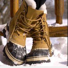 "Selling this ""J Crew Sorel Caribou buff black waterproof Boots 8"" in my Poshmark closet! My username is: richbororiches. #shopmycloset #poshmark #fashion #shopping #style #forsale #SOREL #Boots"
